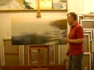 Michael Major Paints a Painting: Action 2