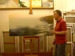 Michael Major Paints a Painting: Action 2