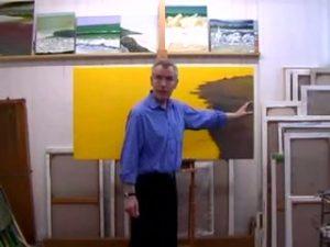 Michael Major Paints a Painting: Development 1