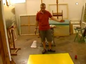 Michael Major Paints a Painting: Preparation 2